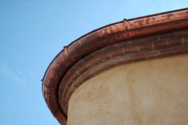 installazione di grondaie pluviali in rame lamiere ForInstallazione Di Condotte Idriche In Rame